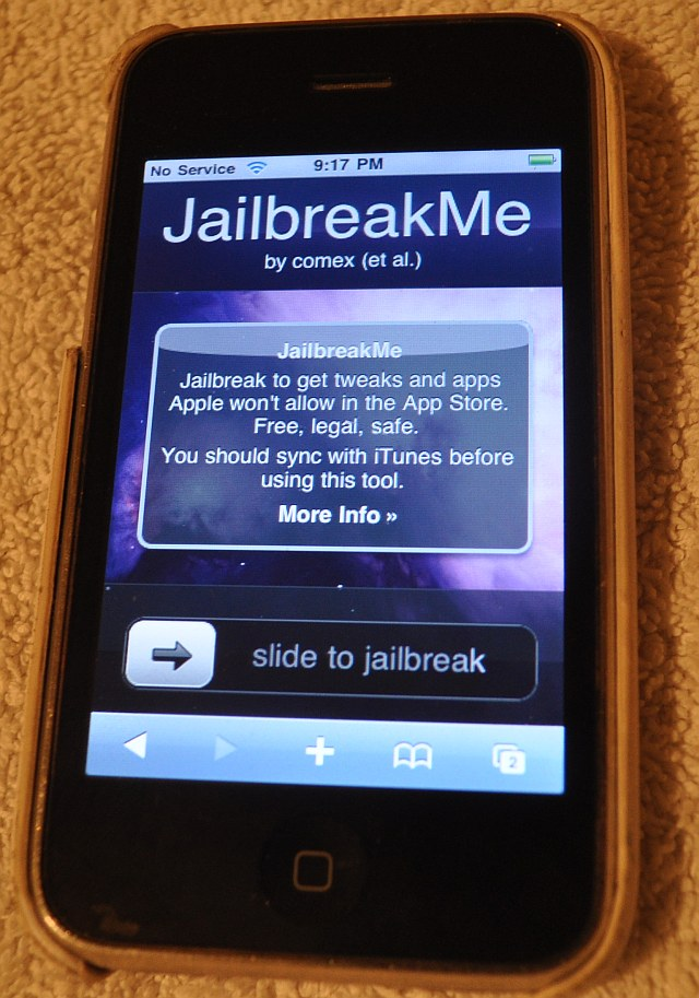 Spirit jailbreak tool by comex usb drivers