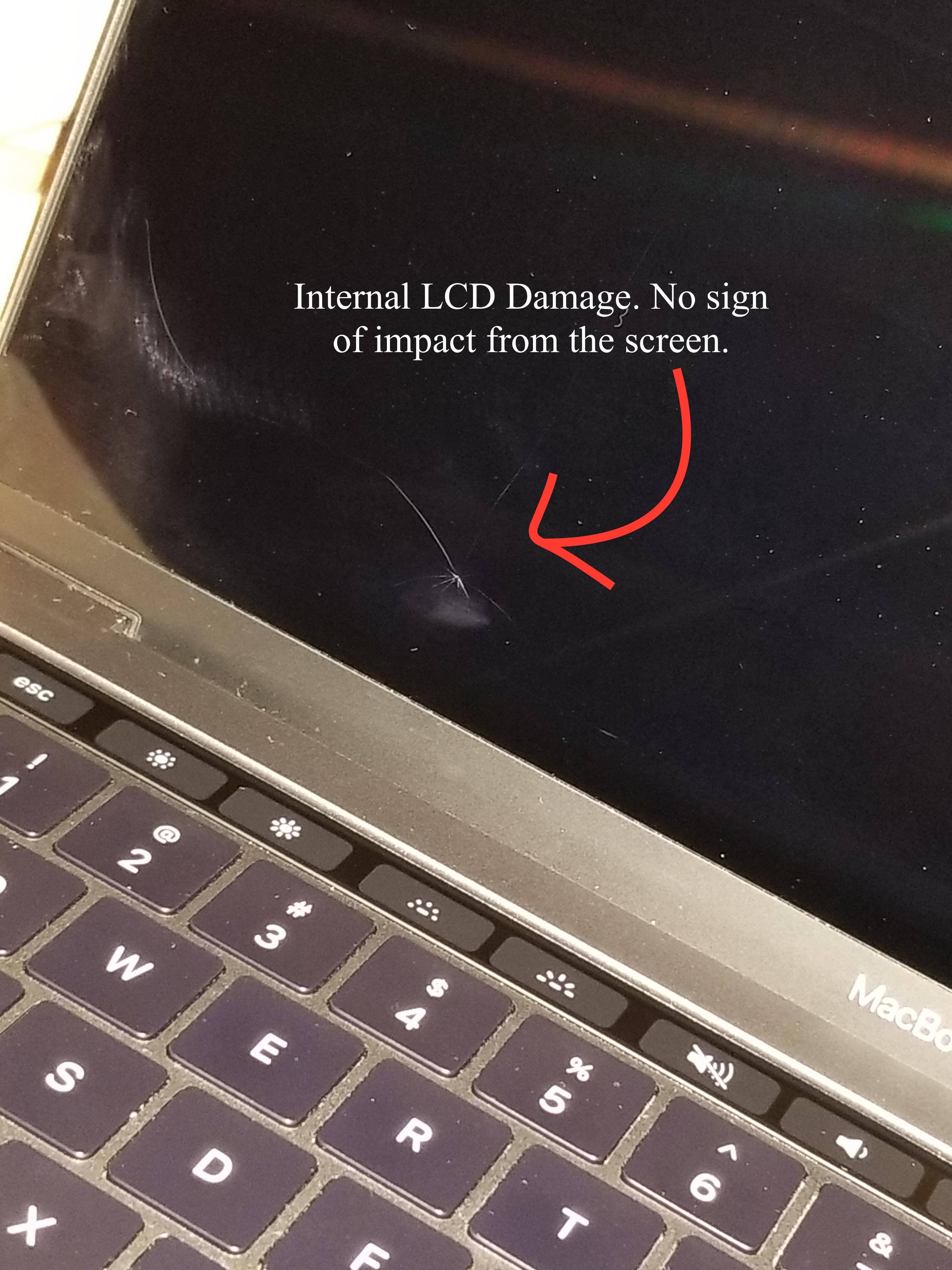 MacBook Pro LCD Broke (Not my fault) | MacRumors Forums