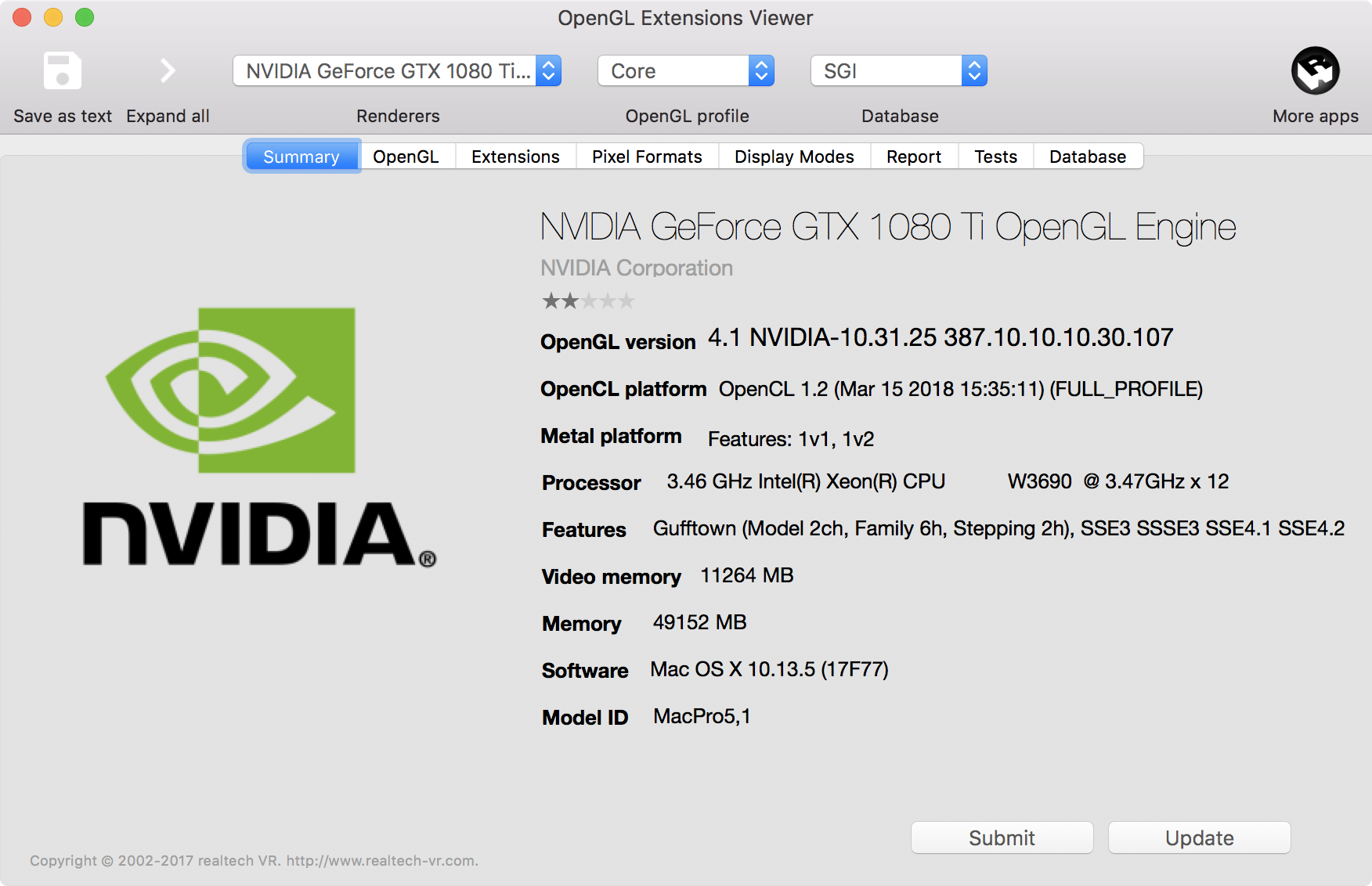 MacOS Mojave metal supported GPU? | MacRumors Forums