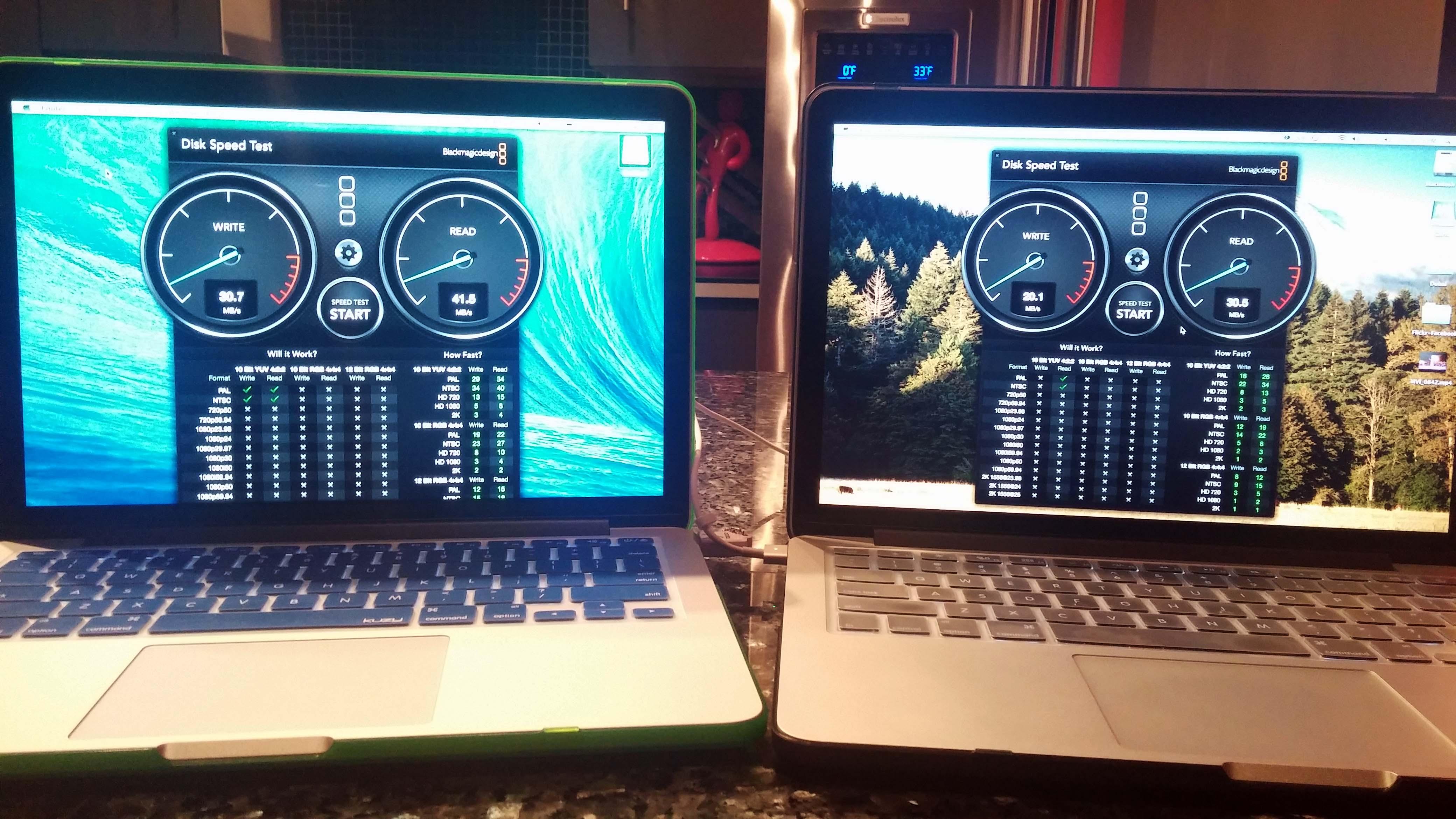 Wireless AC vs. Wireless N, my little test. | MacRumors Forums