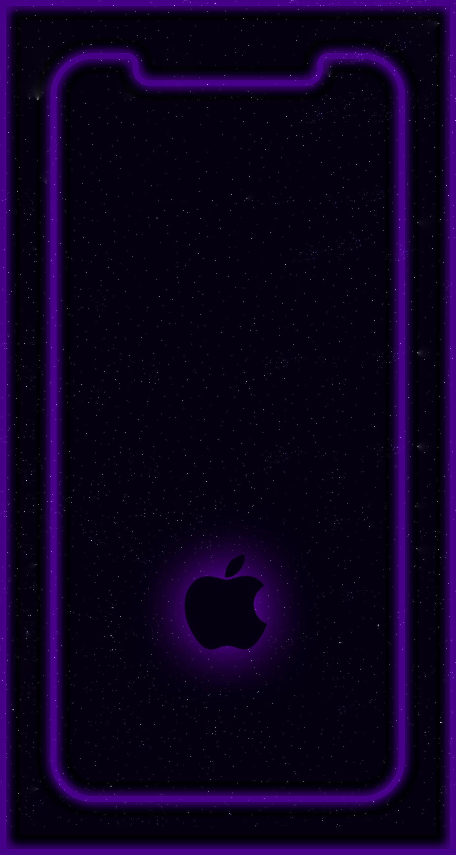 Cool Iphone X Outline Wallpaper   just touch me