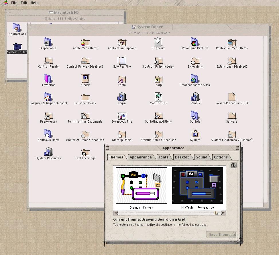 OS 9 Themes | MacRumors Forums