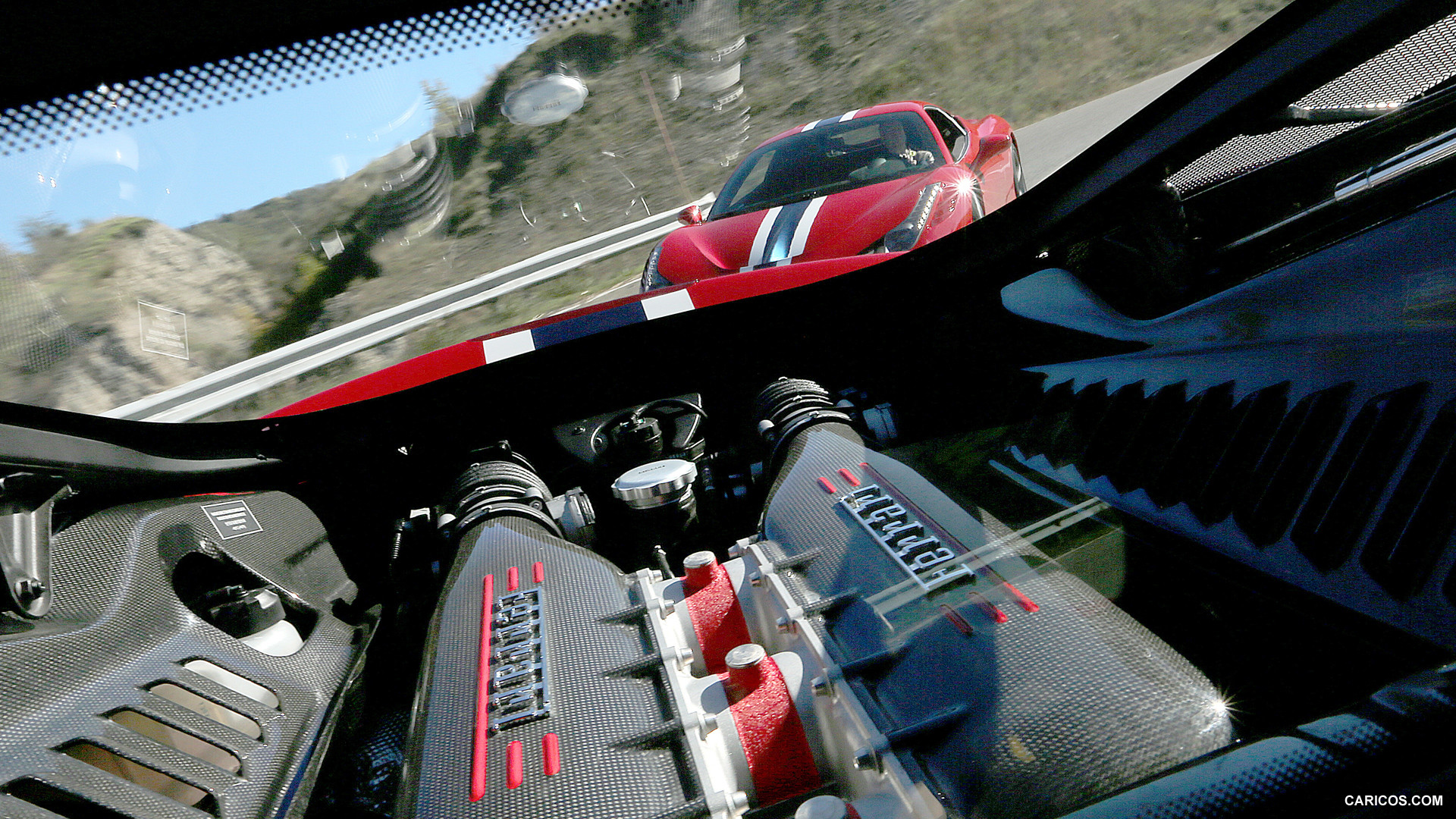 Ferrari Engine Wallpaper Iphone