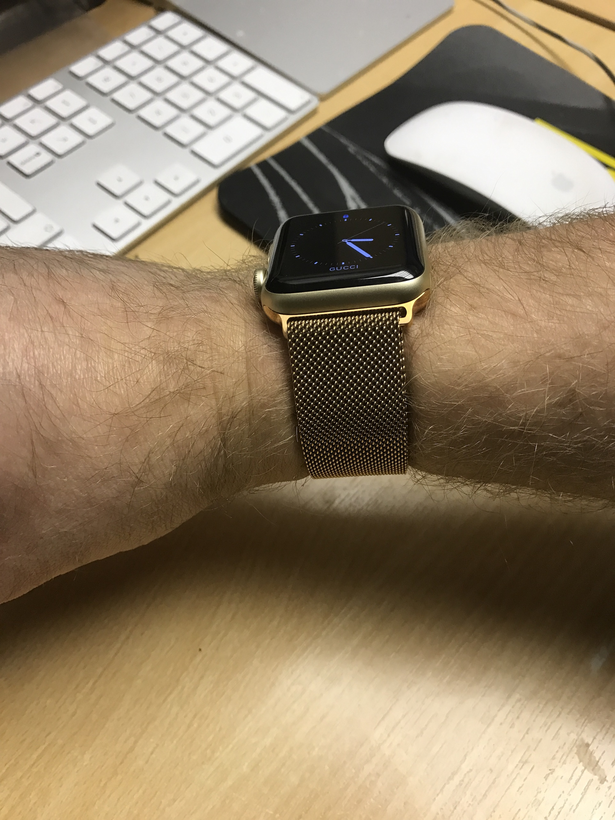 Any Men With Apple Watch In Gold Macrumors Forums 2 Series 1 38mm Rose Aluminum Pink Sport Band 2016 12 152508