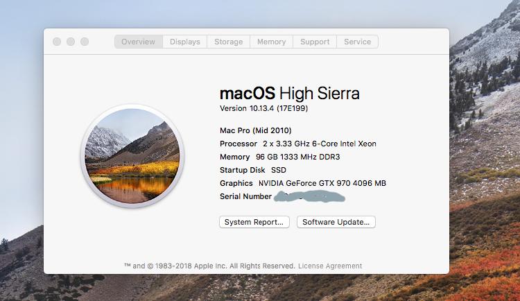 nvidia webdriver w/High Sierra problem | MacRumors Forums