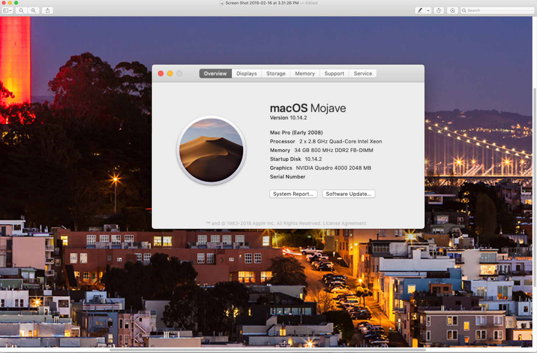 Quadro 4000 with MacOS Mojave | MacRumors Forums