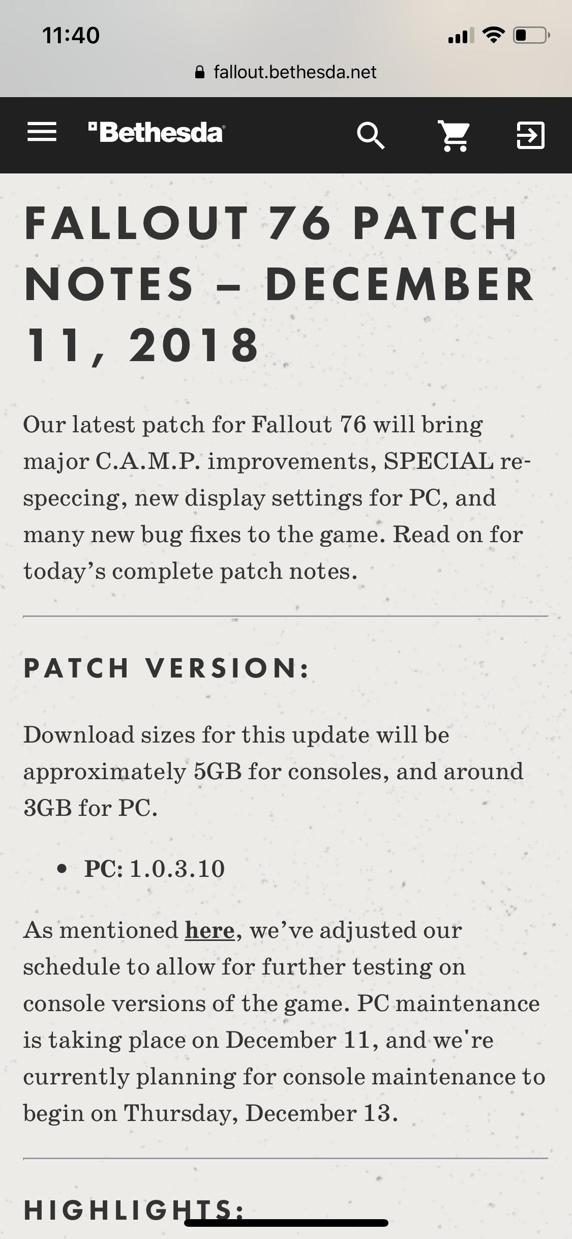 Bethesda: Fallout 76 Coming | Page 8 | MacRumors Forums