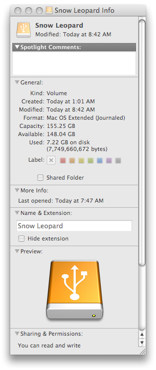 How much hard drive space will OS X Snow Leopard take