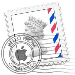 Airmail Queen Stamp Mail Icon Macrumors Forums