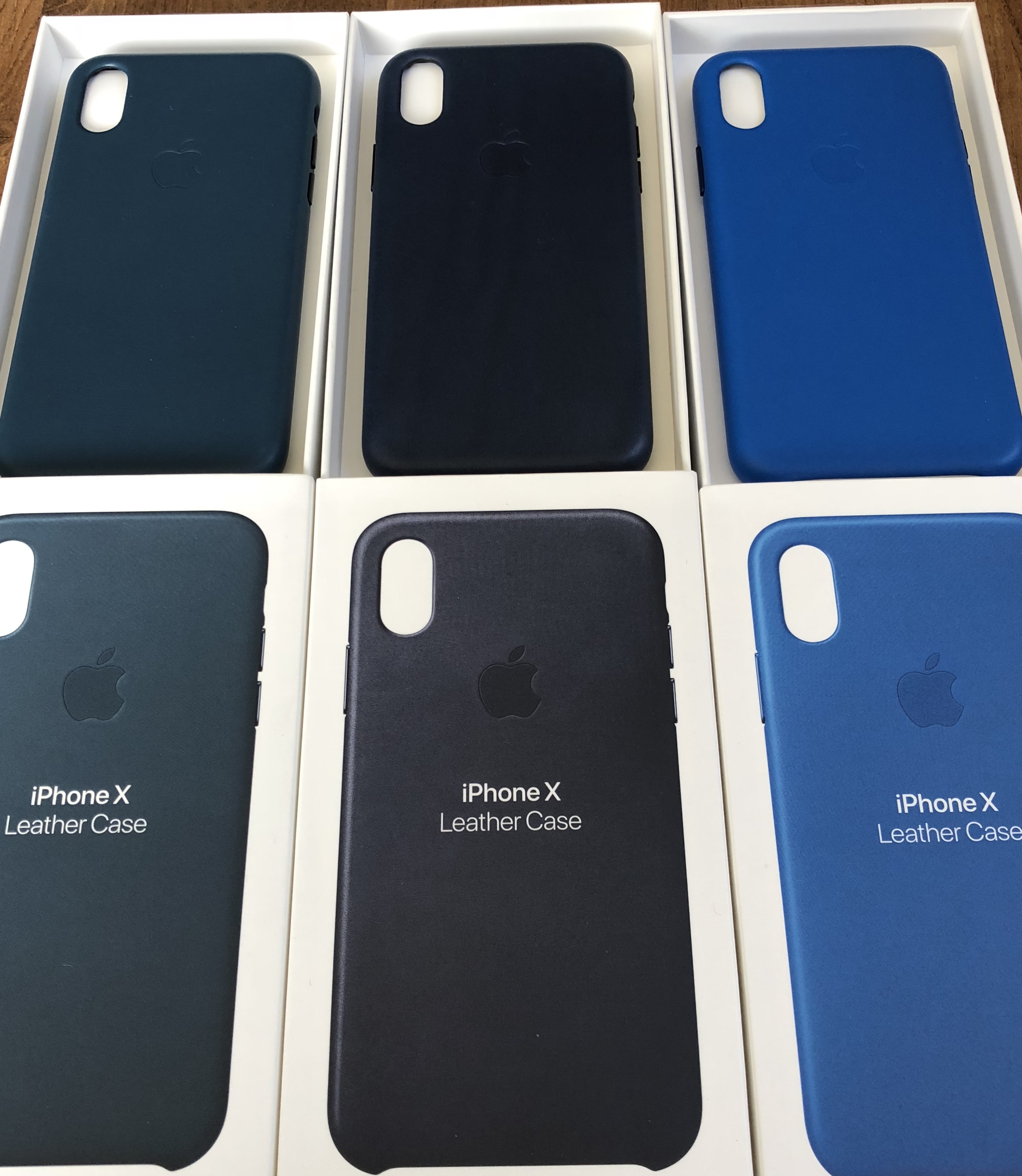 new concept a8728 3470b New Apple Leather & Silicon Cases for iPhone X | Page 3 | MacRumors ...