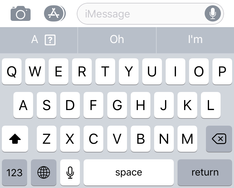 Iphone Predictive Text Error I To A Macrumors Forums