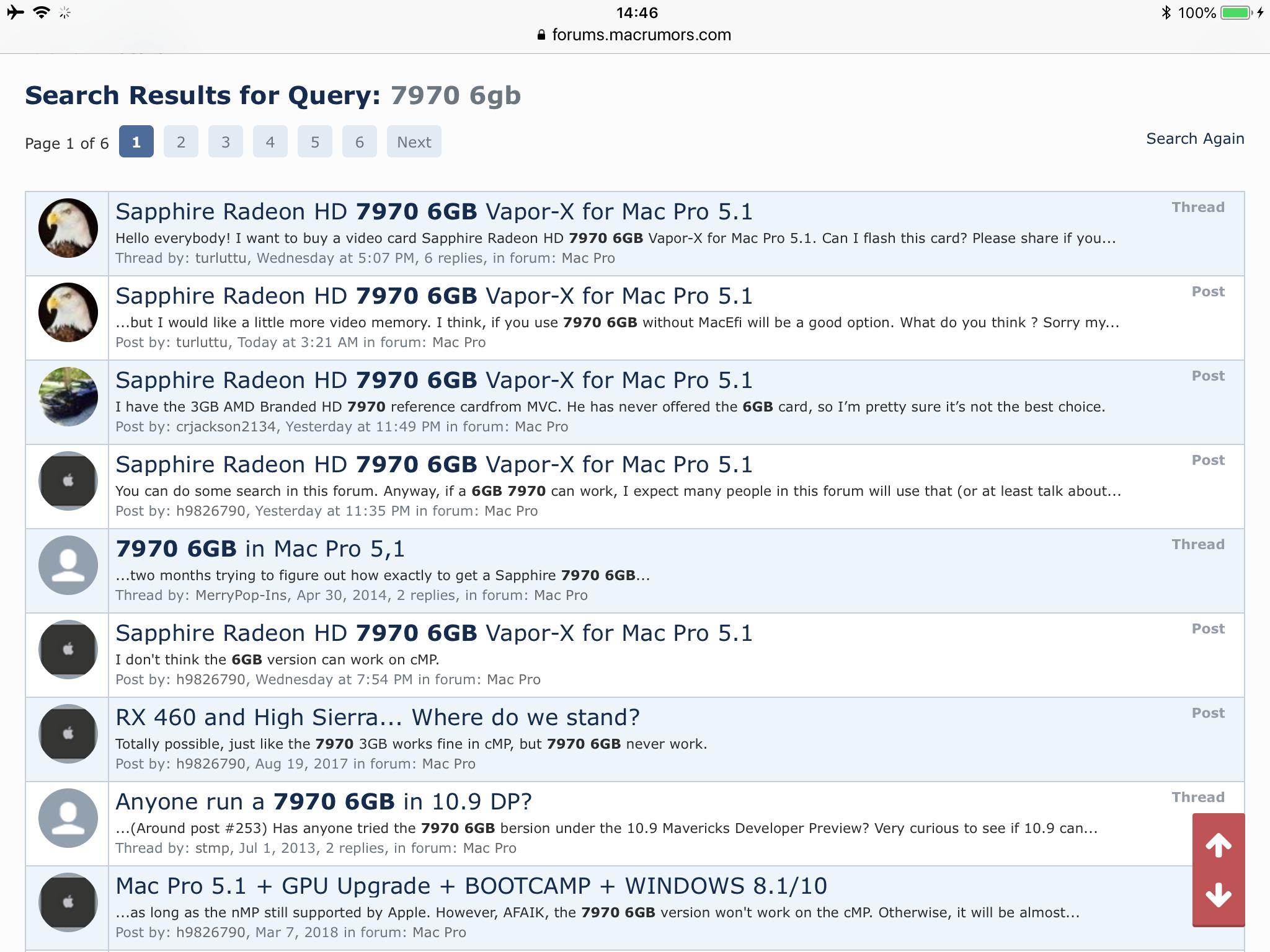 Sapphire Radeon HD 7970 6GB Vapor-X for Mac Pro 5 1