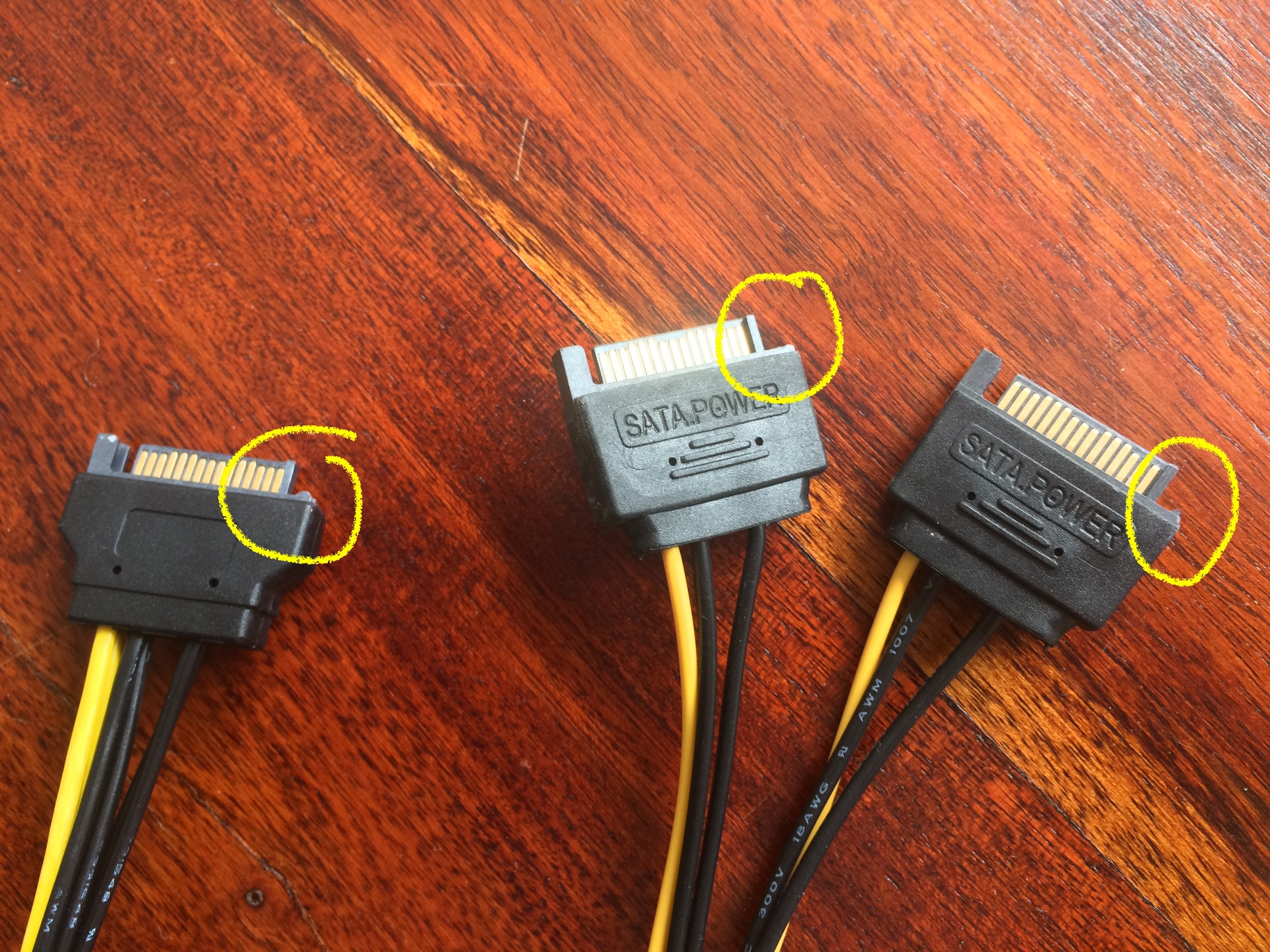 Adjusted SATA Plugs.JPG