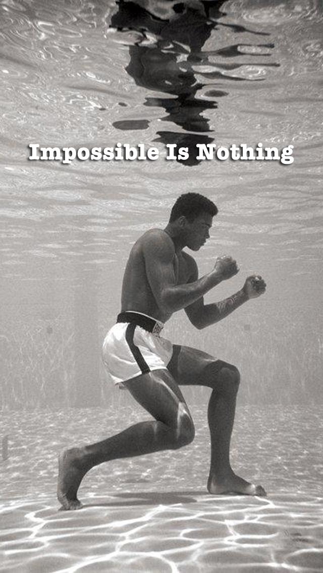 Muhammad Ali Quote Iphone Wallpaper 73592 Loadtve