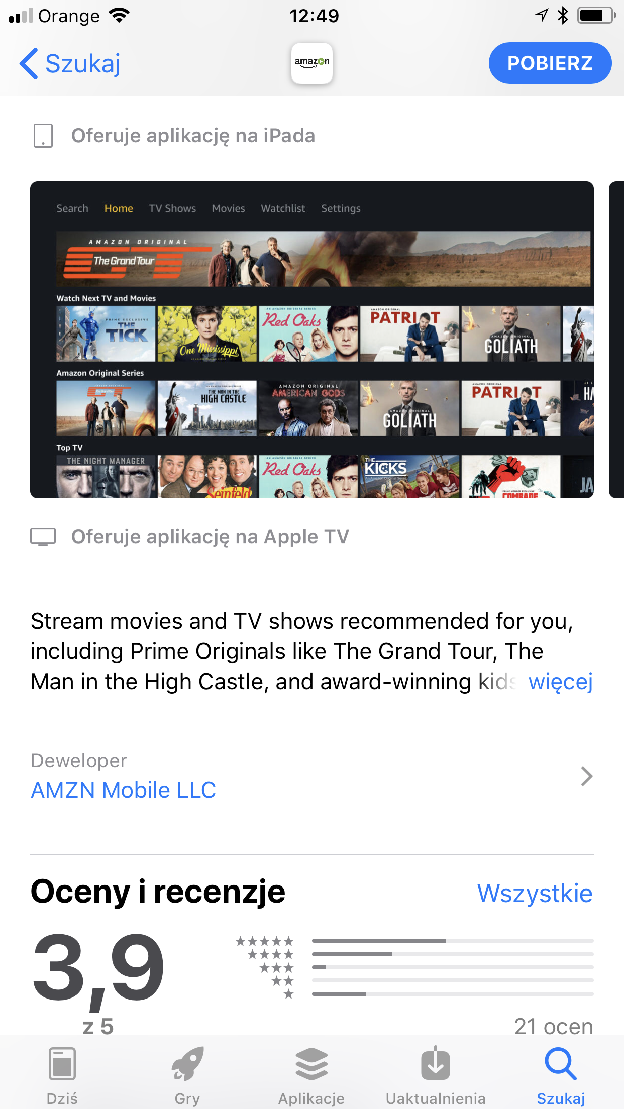 Amazon TV App in Poland.PNG