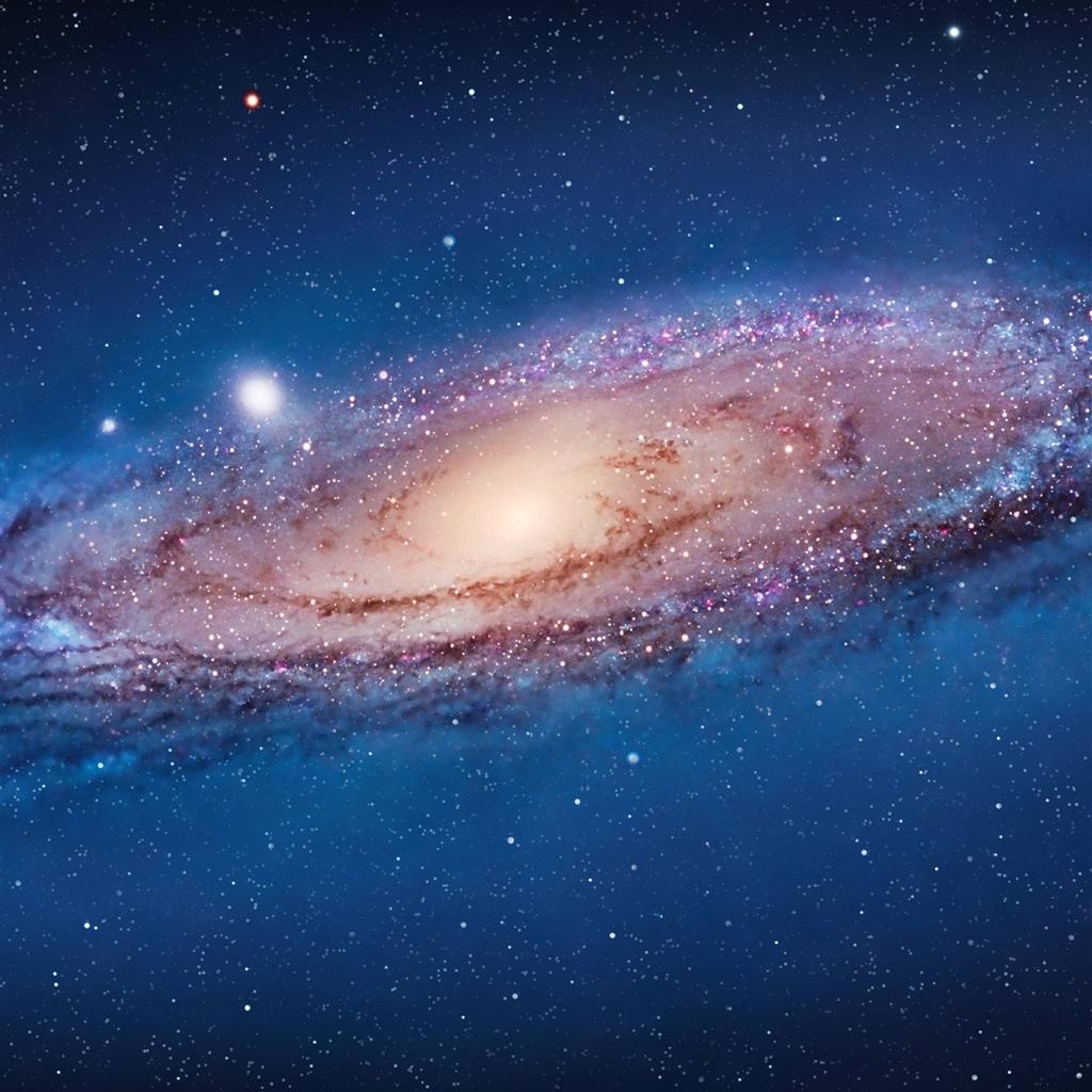 Andromeda Galaxy Ipad 4 Wallpaper Ilikewallpaper Com 1024