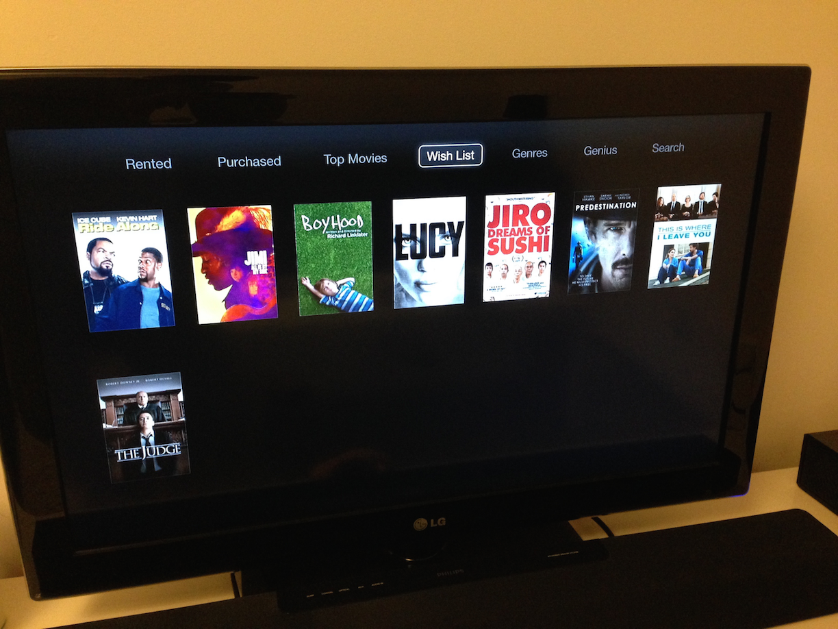 Resolved - My iTunes wish list on Apple TV? | MacRumors Forums