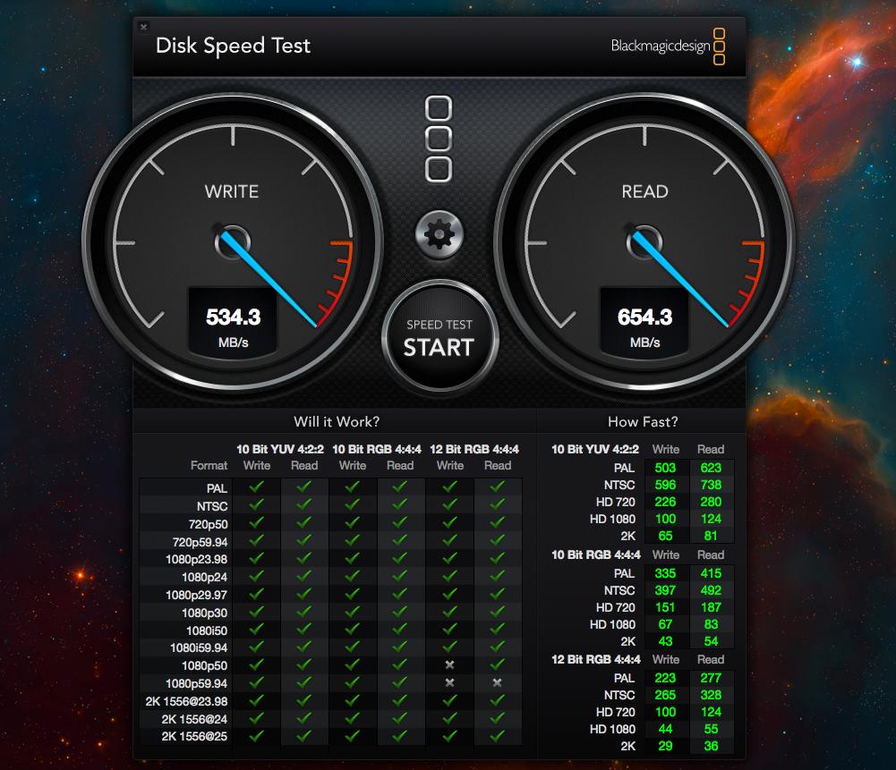 My macbook air disk speed test  | MacRumors Forums