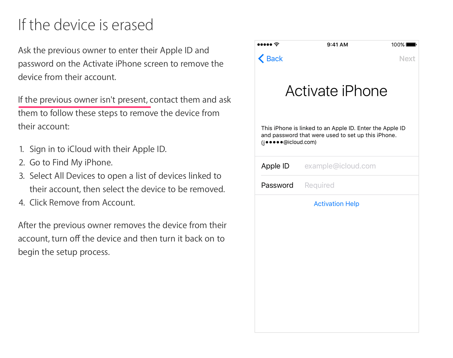 sold Apple Watch – activation lock did not disable | MacRumors Forums