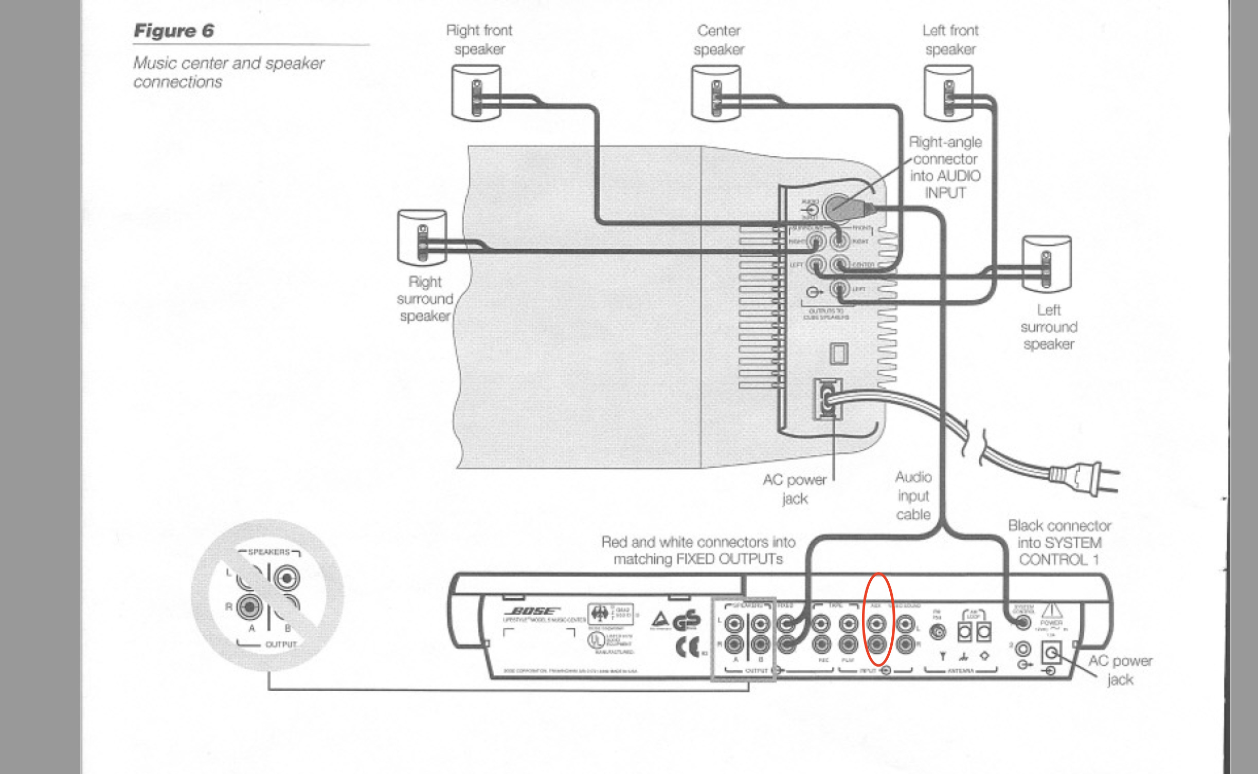Bose Surround Sound Wiring Diagram Libraries For Diagrams U2022bose Images Gallery