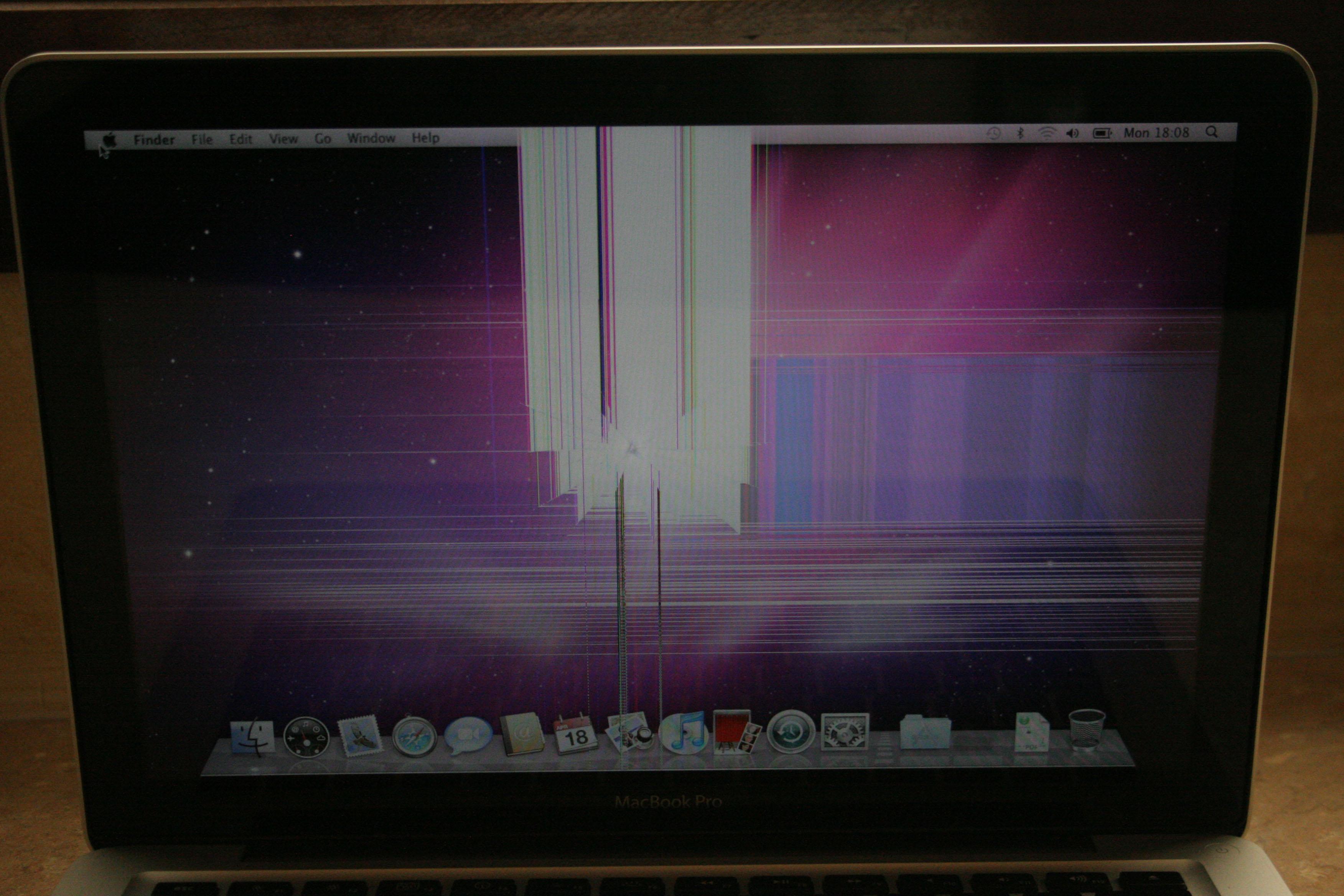 Broken MacBook Pro Screen Replacement