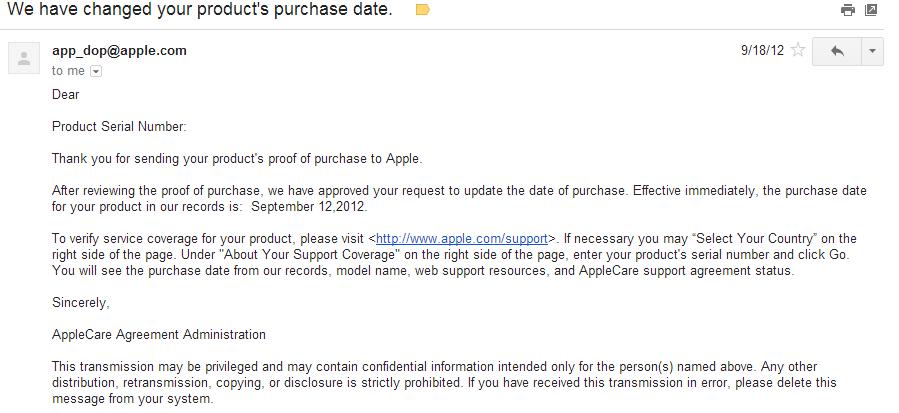 PLEASE HELP!! Bought Open Box Mac, Want to Reset Warranty