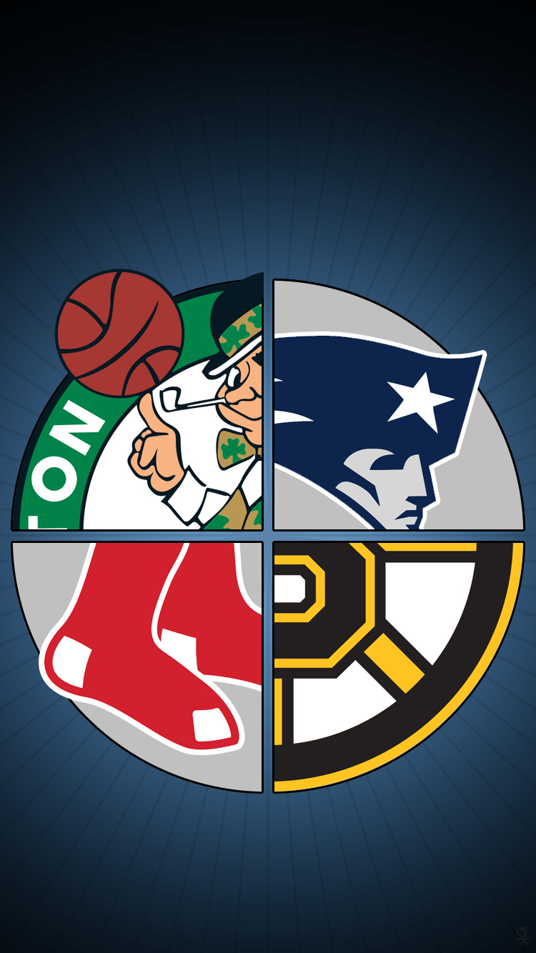 Wallpaper iphone patriots - Celtics Patriots Red Sox Bruins Png