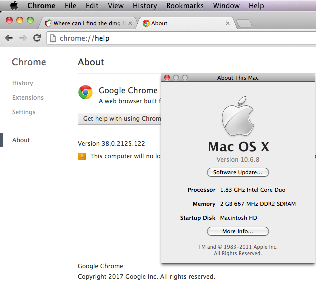 google chrome download mac version 10.5.8