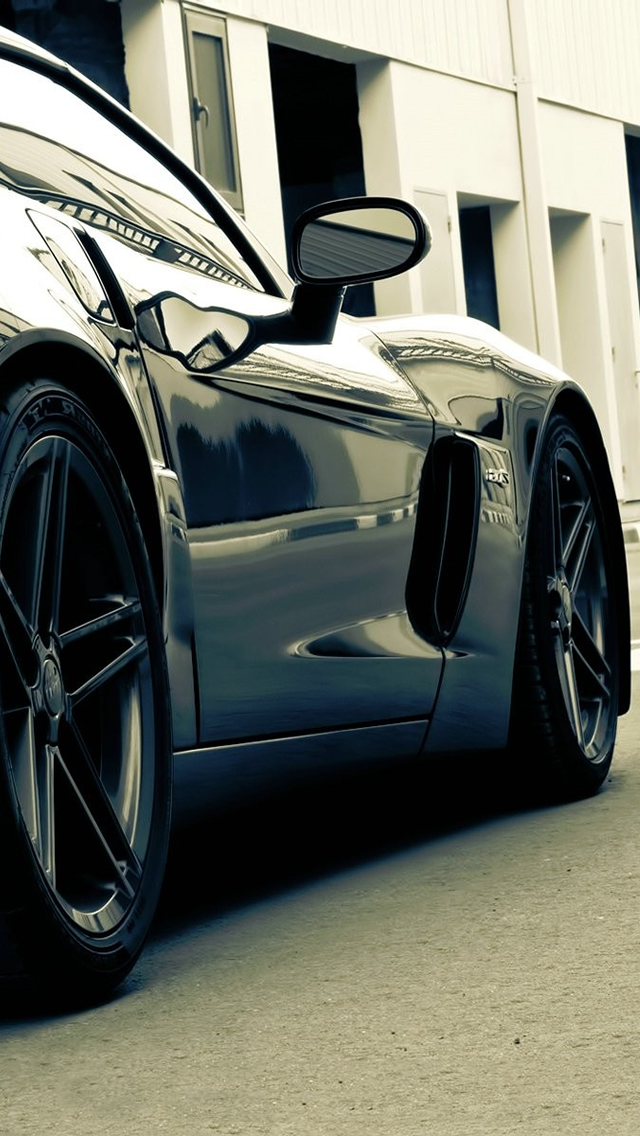 Corvette IPhone 5 Wallpaper Ilikewallpaper_com