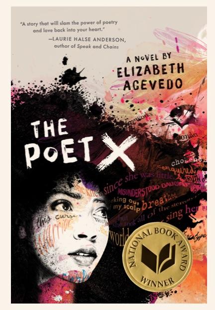 cover art - Elizabeth Acevedo - The Poet X.jpg