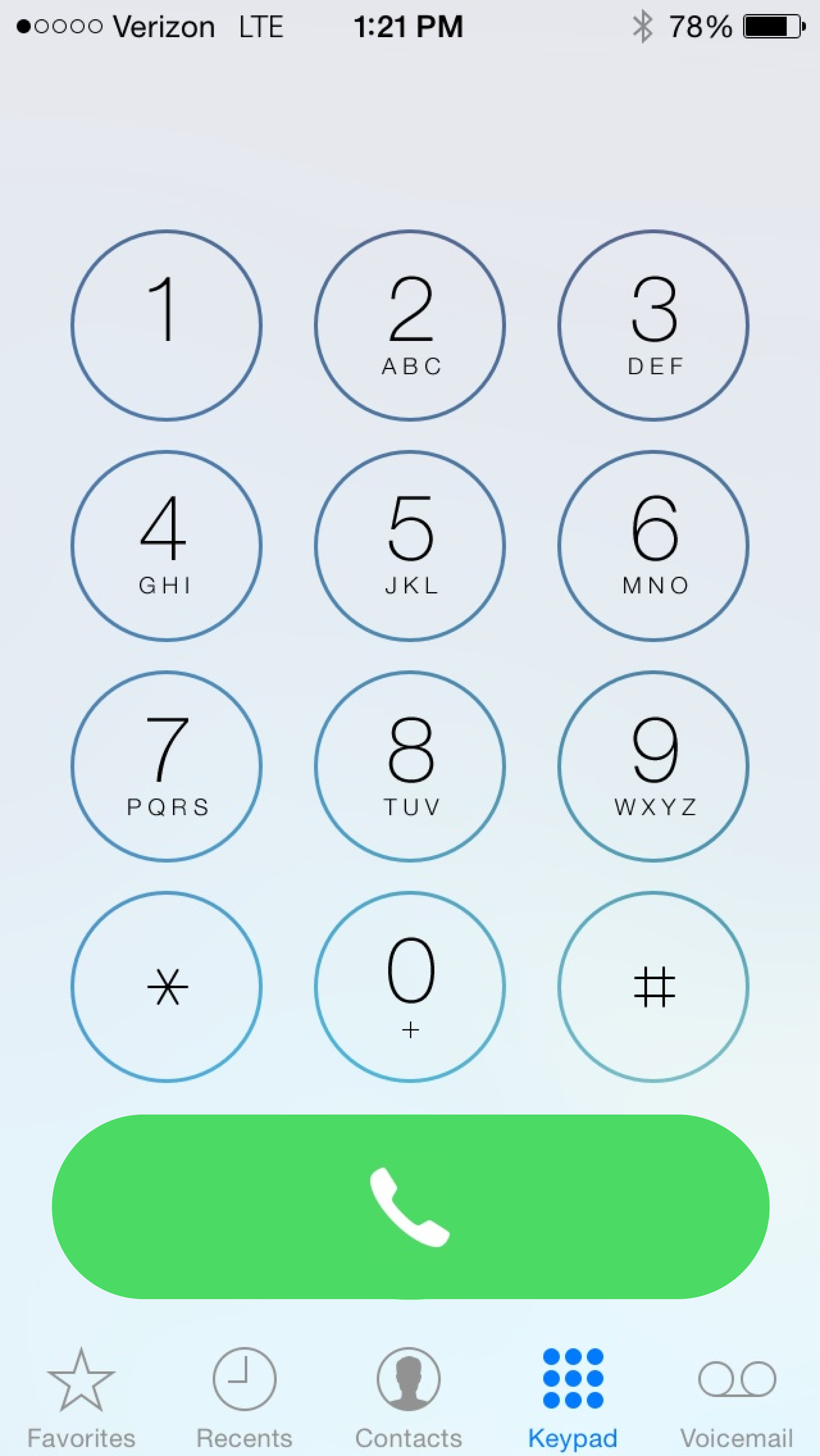 What the new dialer SHOULD look like (beta 3) | MacRumors Forums