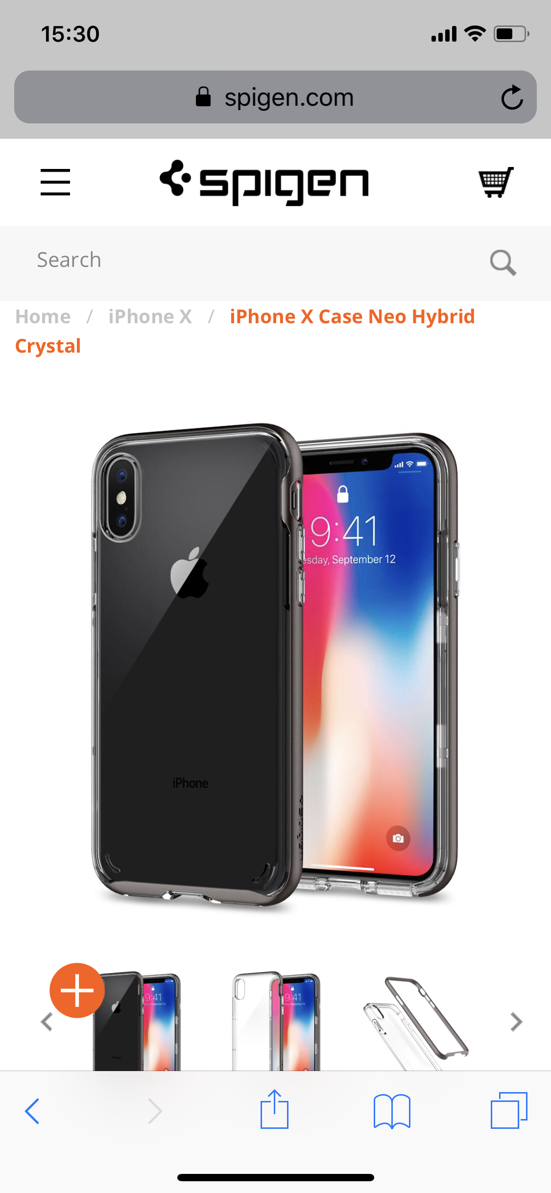 Spigen Ultra Hybrid Iphone X Case Review