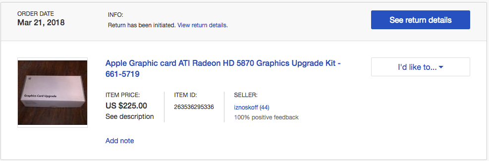 AMD RADEON HD5870, how to detect a fake? | MacRumors Forums