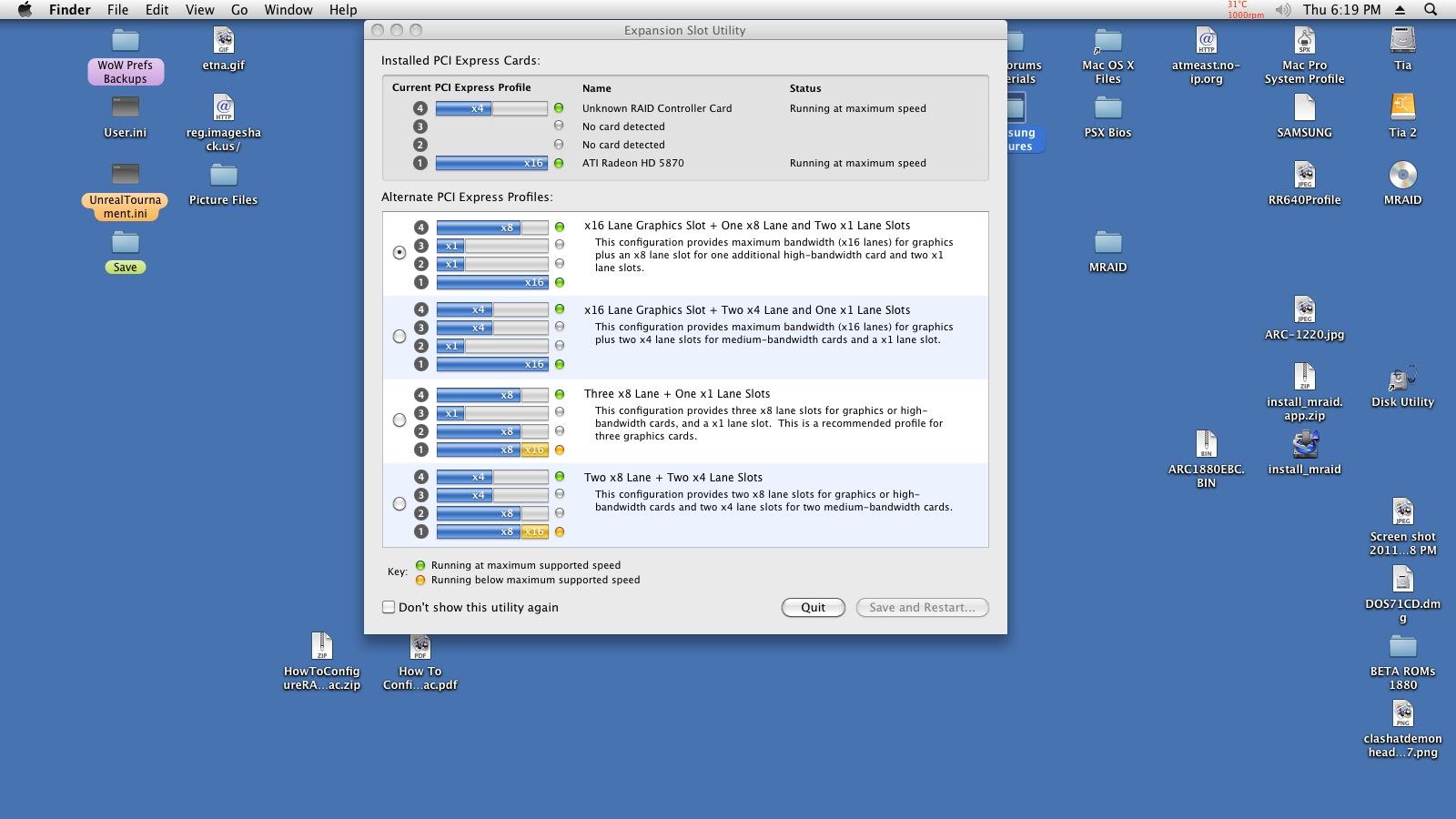 Areca 1880ix-12 issues on Mac Pro 1,1 :( | MacRumors Forums