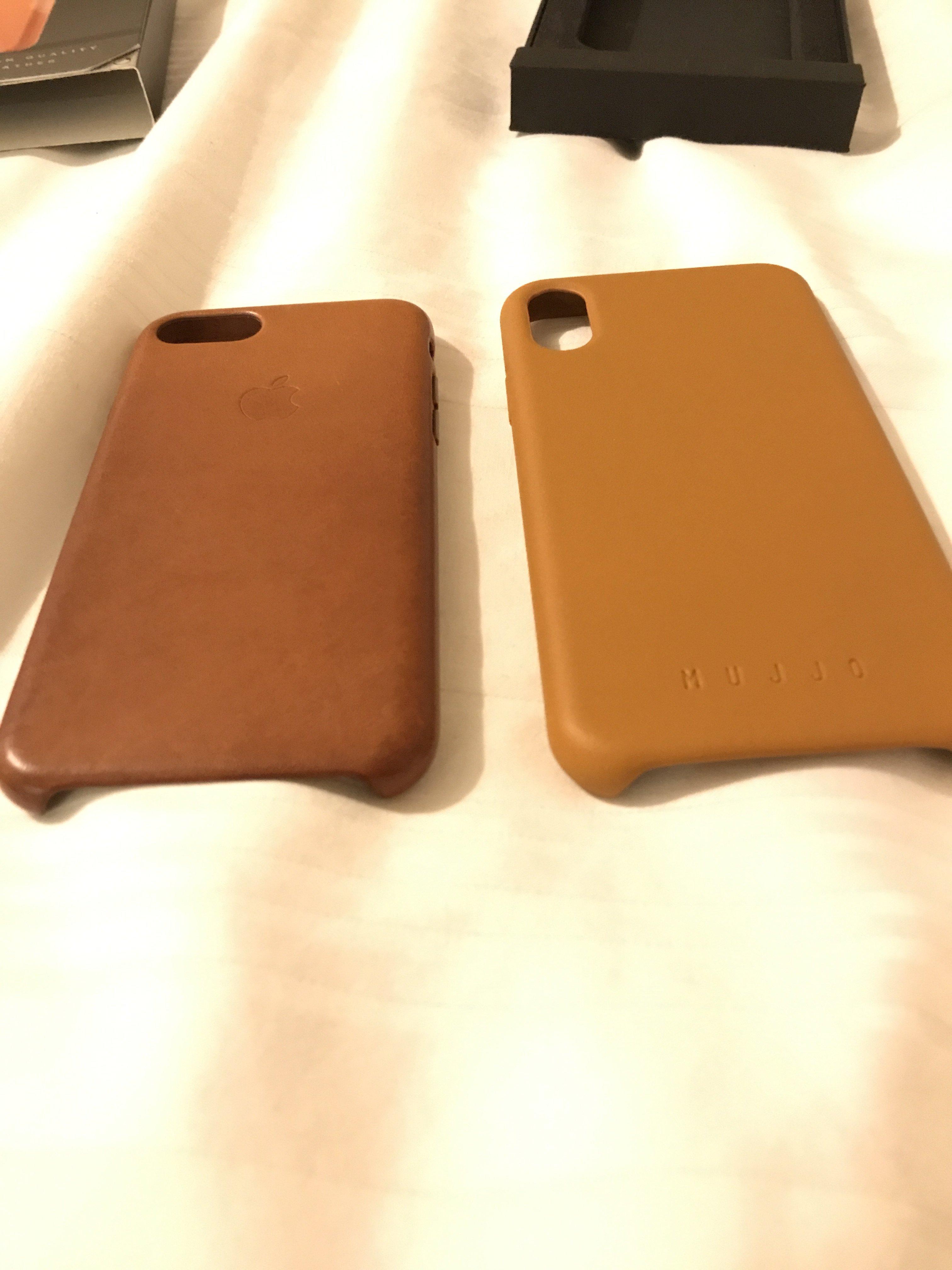 reputable site b41eb 2361a Mujjo leather case vs Apple | MacRumors Forums