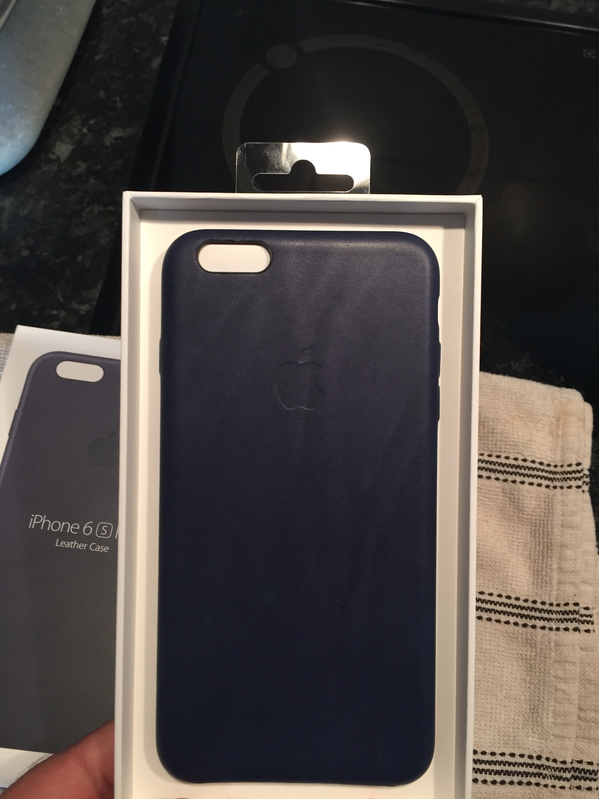 brand new bcec5 0495e Midnight Blue Leather Case For Iphone 6s Plus | MacRumors Forums
