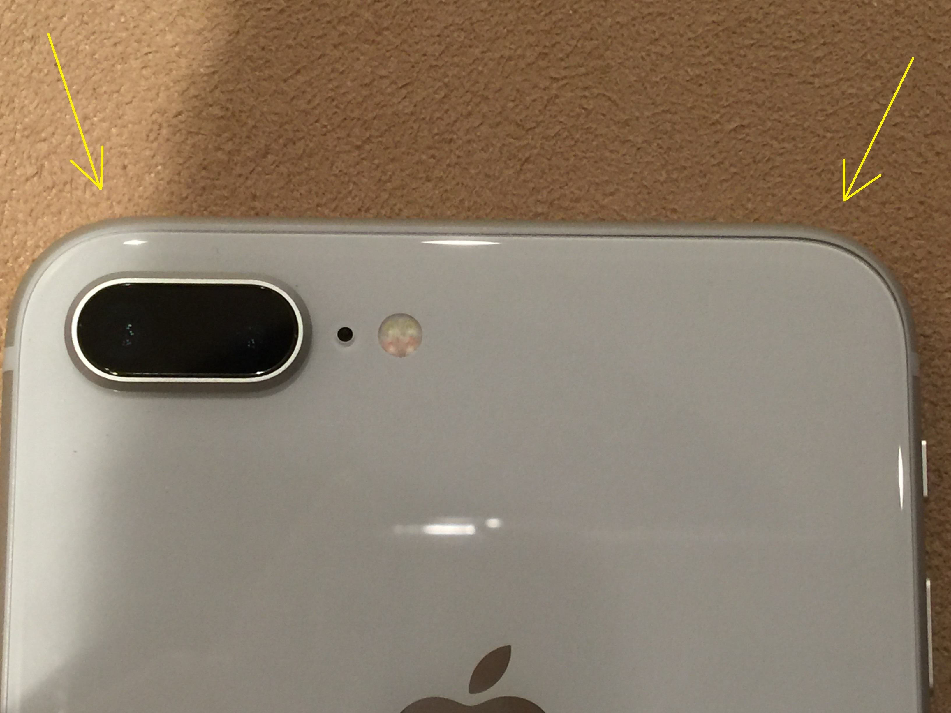 huge discount e1587 dea25 iPhone 8 Plus glass frame gaps | MacRumors Forums
