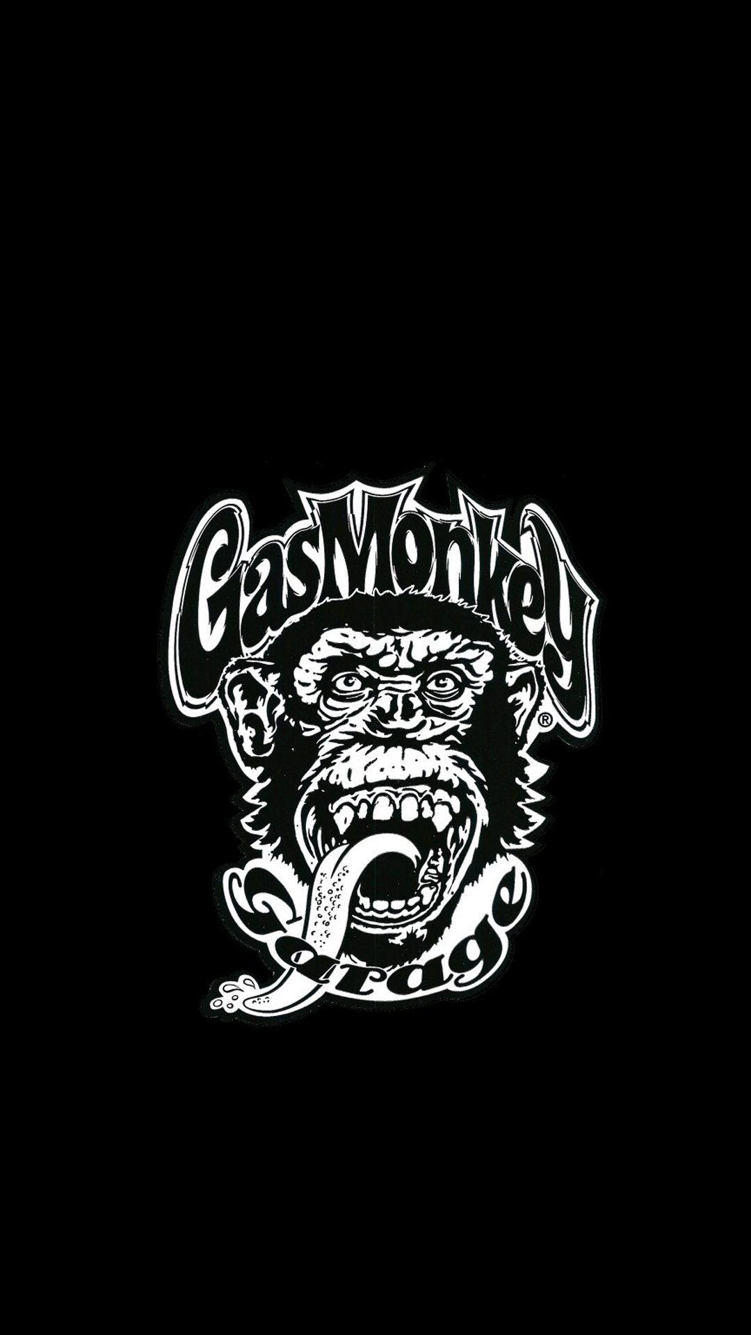 Wallpaper iphone monkey - Gas Monkey Garage 02 Png