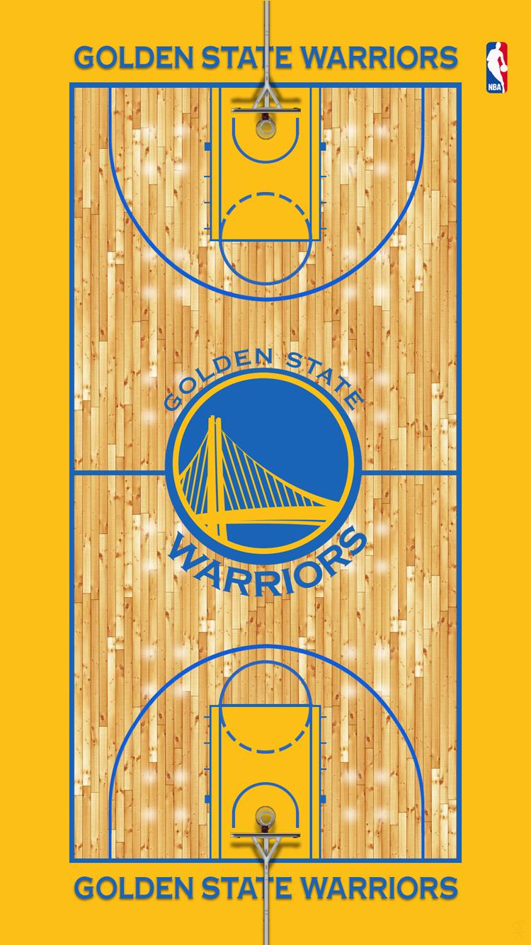 Golden State Warriors court.png iPhone 5 Wallpaper ...
