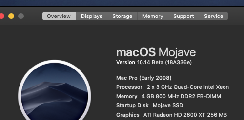 macOS 10 14 Mojave on Unsupported Macs Thread | Page 157 | MacRumors