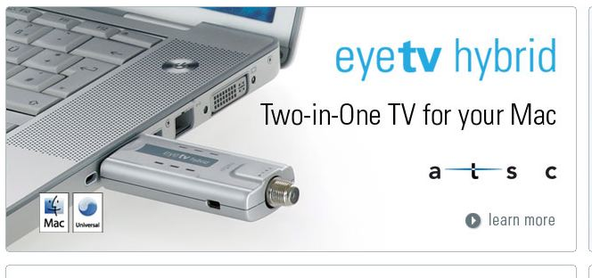 Elgato's EyeTv Hybrid | MacRumors Forums