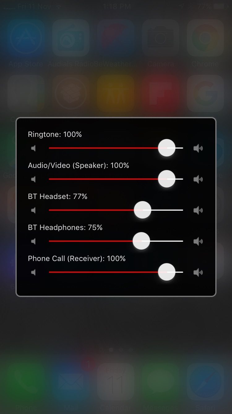 Volume control - iOS and Android | MacRumors Forums