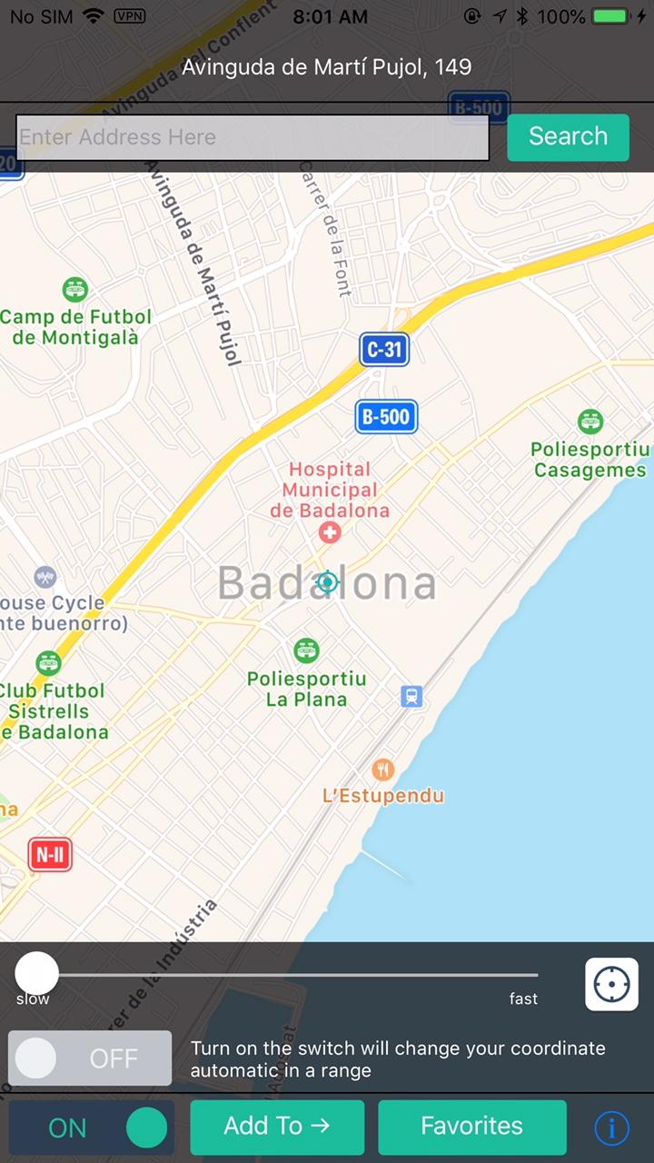 Resolved - fake gps location | MacRumors Forums