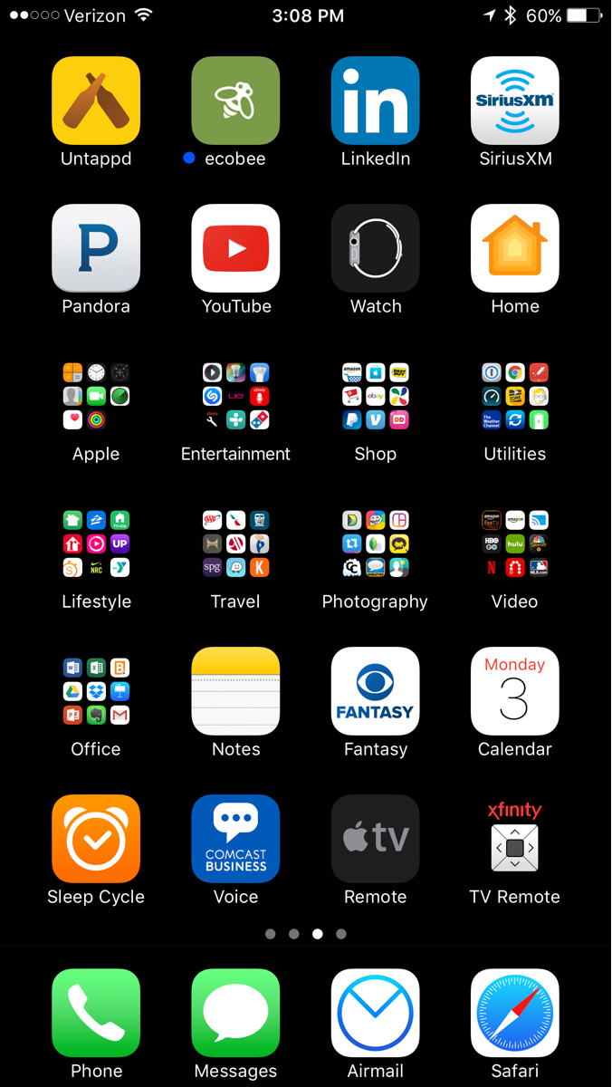 Post your iPhone 7/7+ home screens here! | Page 6 | MacRumors Forums