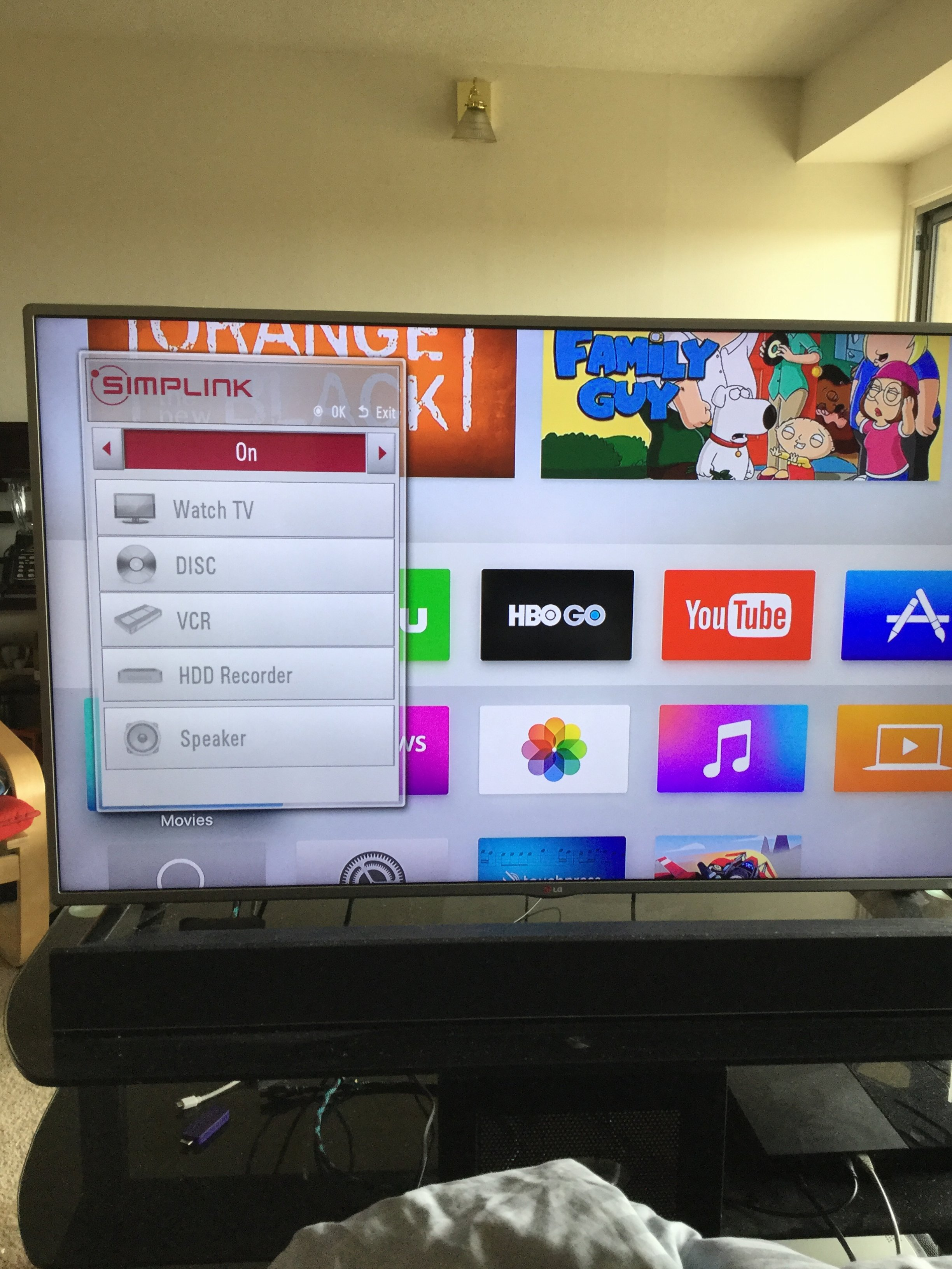 HDMI CEC Setup with LG Simplelink | Page 2 | MacRumors Forums