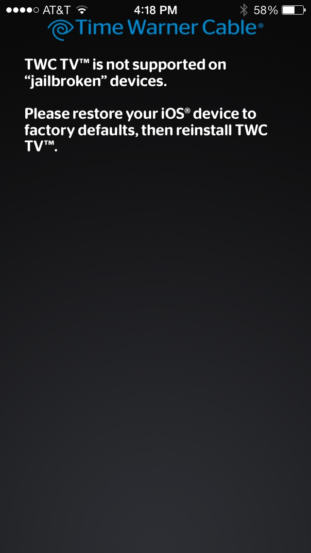 iPhone - Anything available yet to bypass Time Warner (TWC TV app