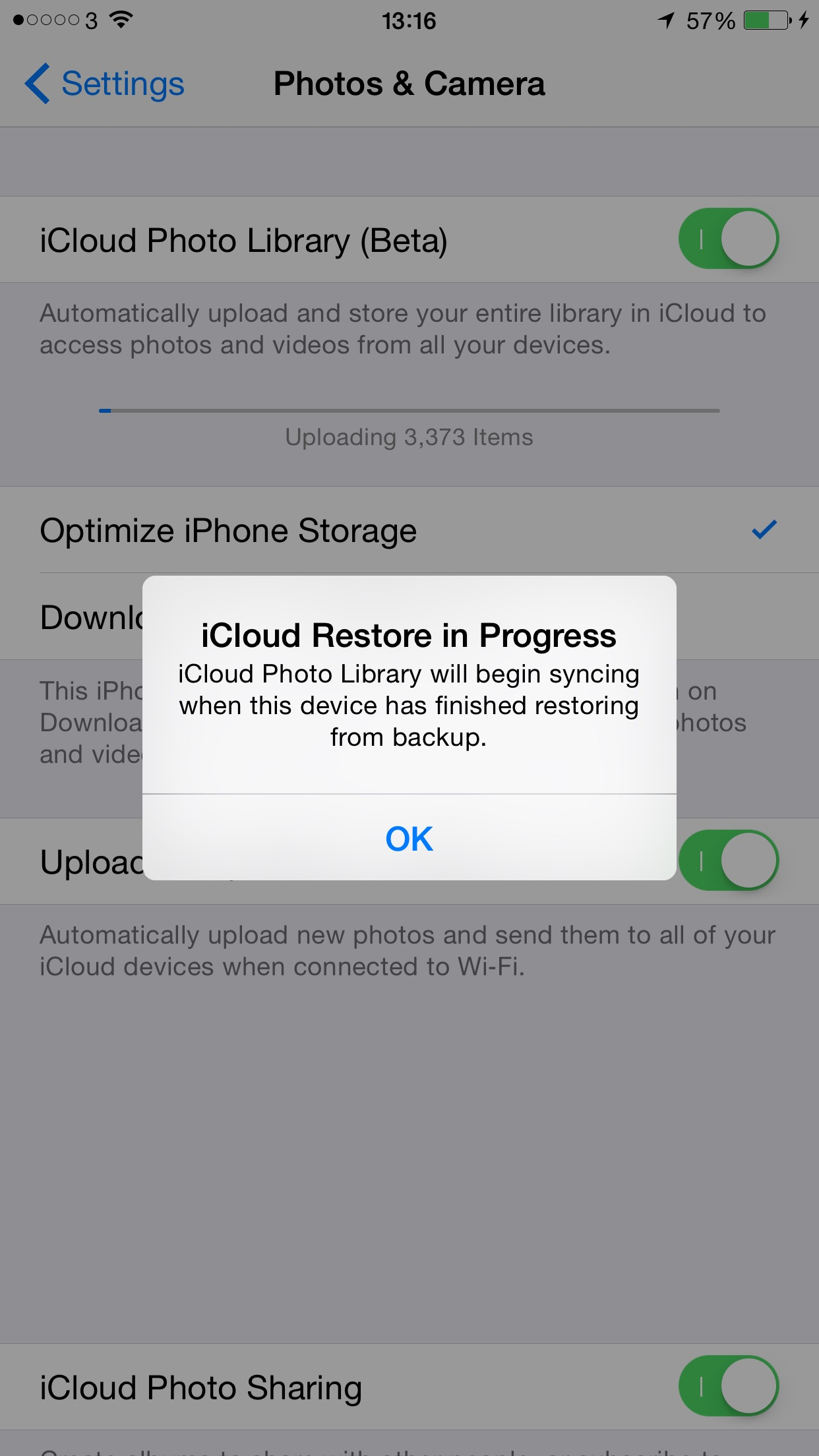 icloud photo library always uploading macrumors forums