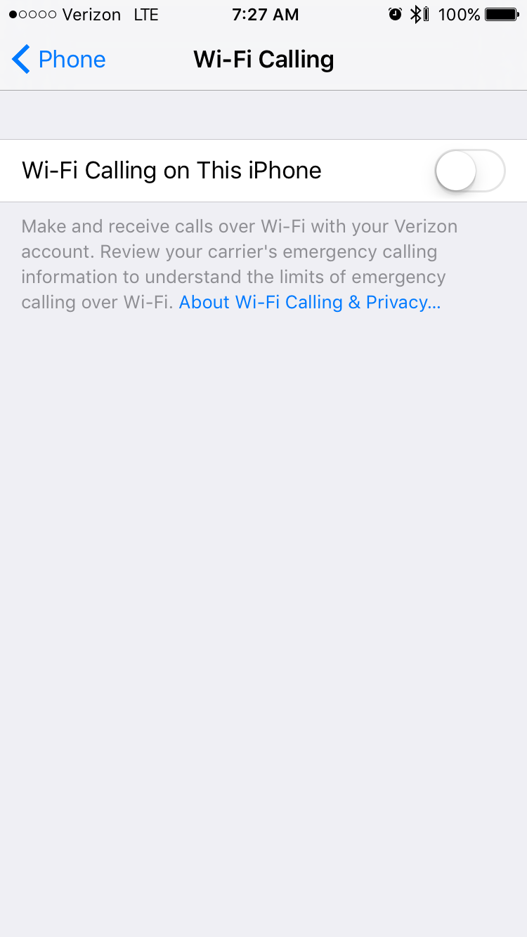 Ios updating your carrier settings verizon