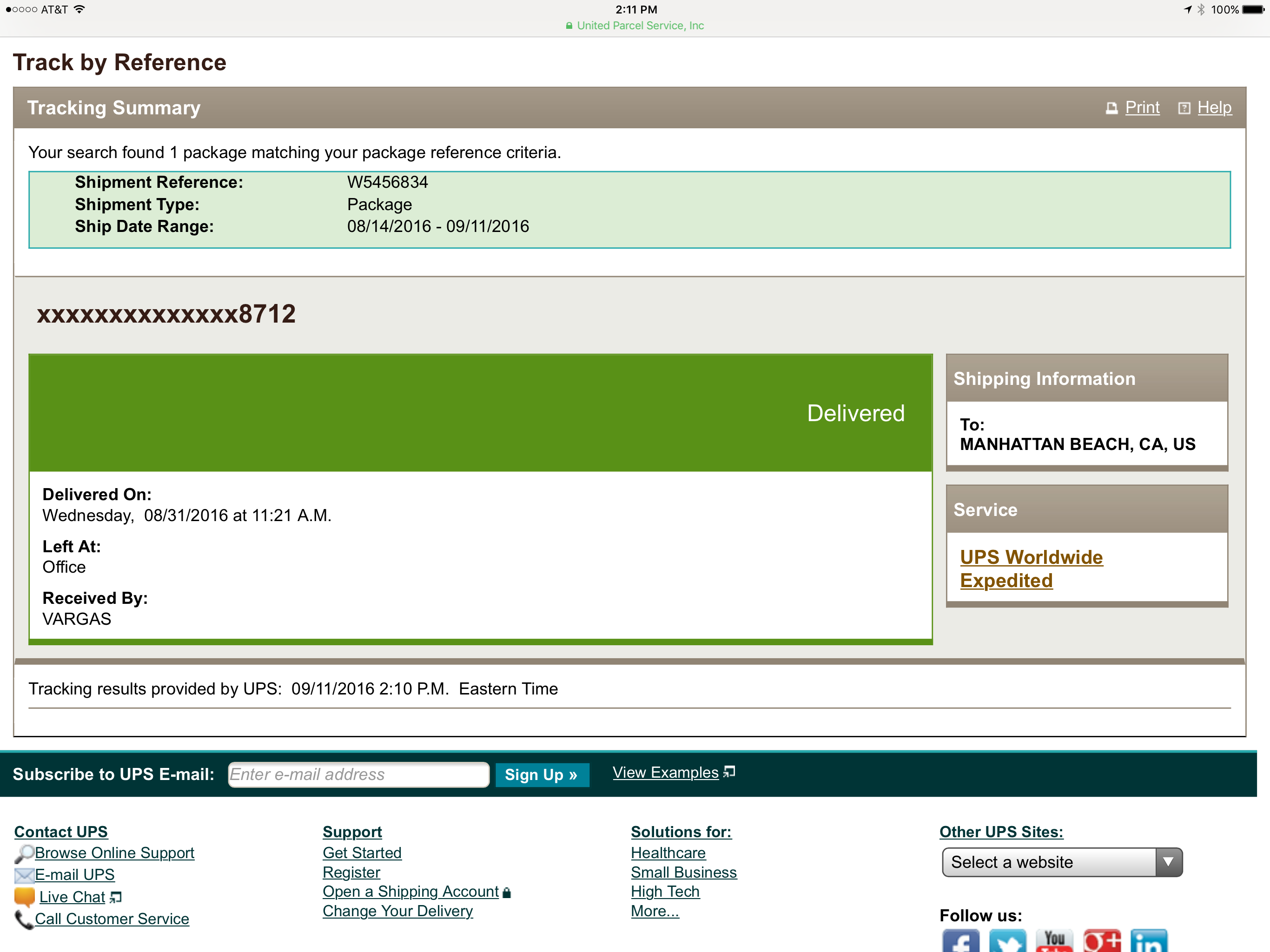 I tracked my Apple com order through UPS | MacRumors Forums