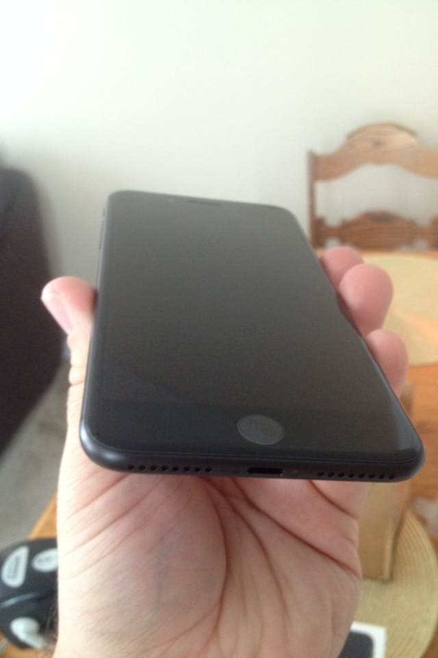 iphone 7 plus matte black front. My IPhone 7 Plus 128GB Matte Black Has Arrived From FedEx, No Signature Required Woo!!! Iphone Front